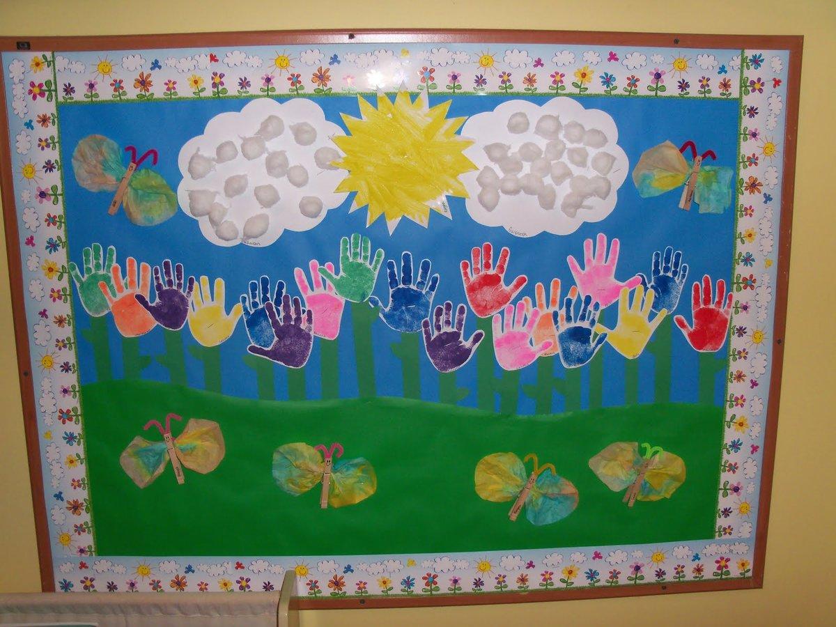 Поделки и аппликации в детском саду фото