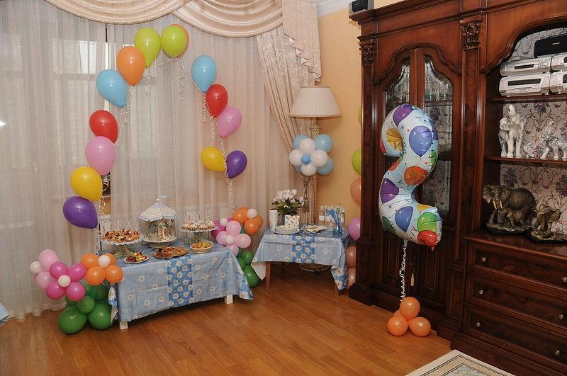 Как украсить квартиру на день рождения сына