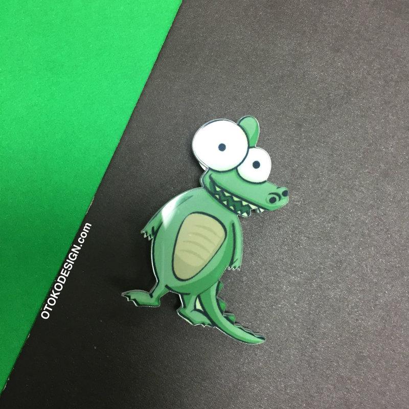 Крокодил для одежды