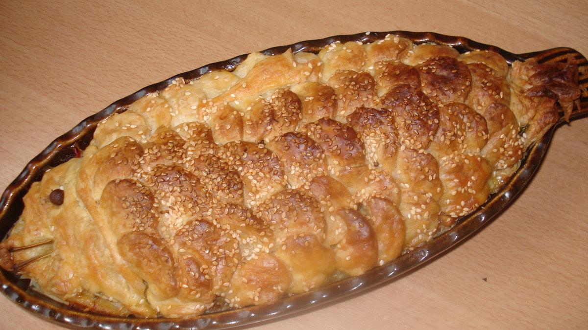 Пироги из рыбы рецепты простые и вкусные пошаговые