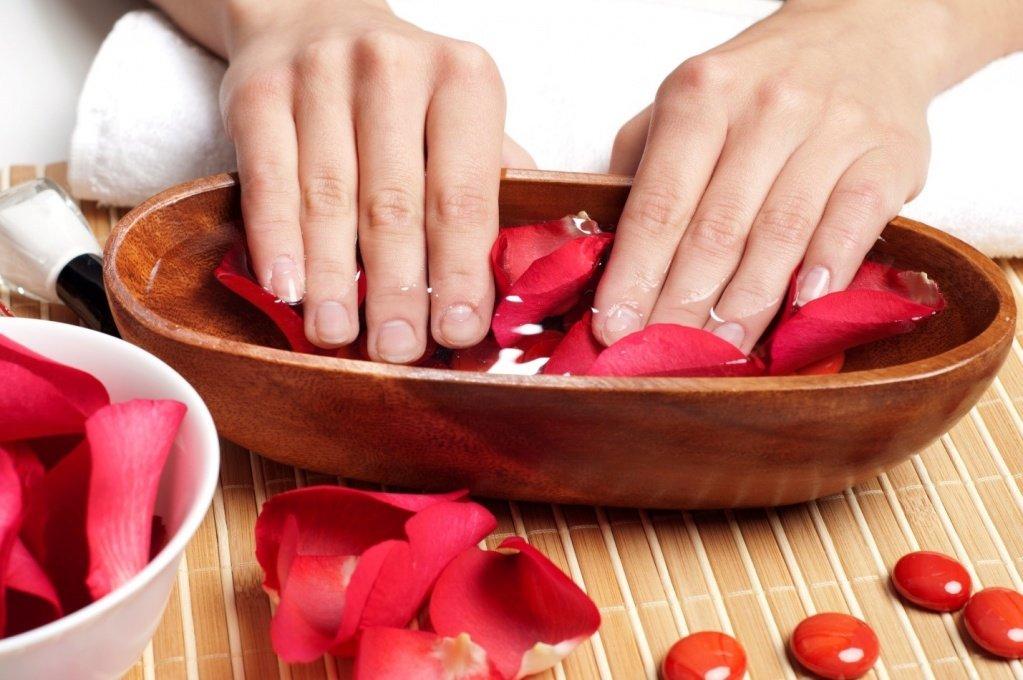 Из чего сделать ванночку для ногтей в домашних условиях 48