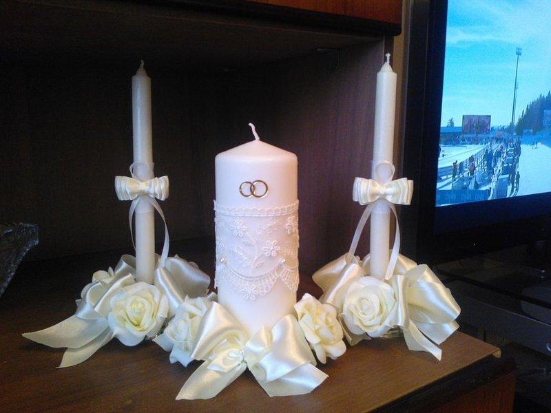 Оформление очага на свадьбу своими руками