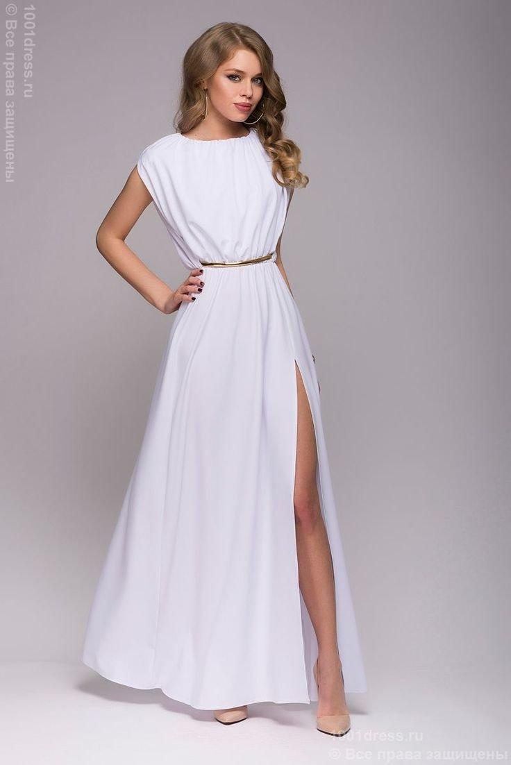 Легкое греческое платье