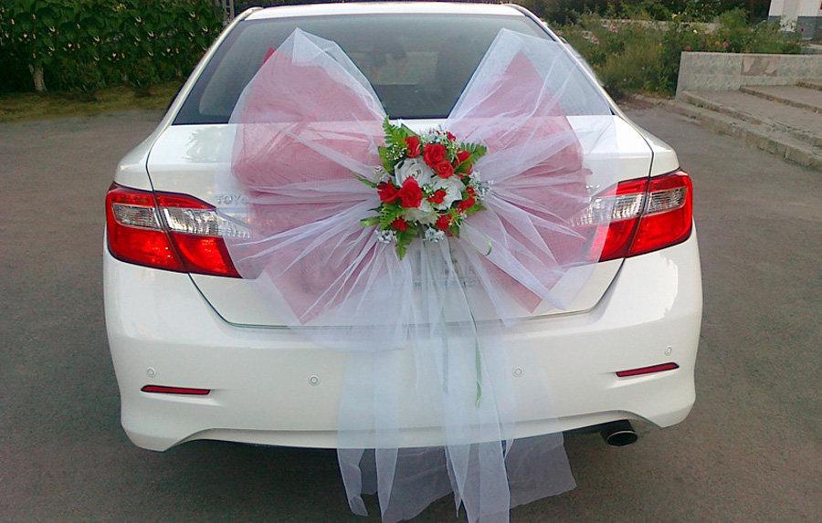Как украсить своими руками свадебное авто 49