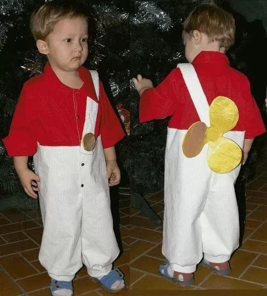 Как сделать простой костюм для мальчика