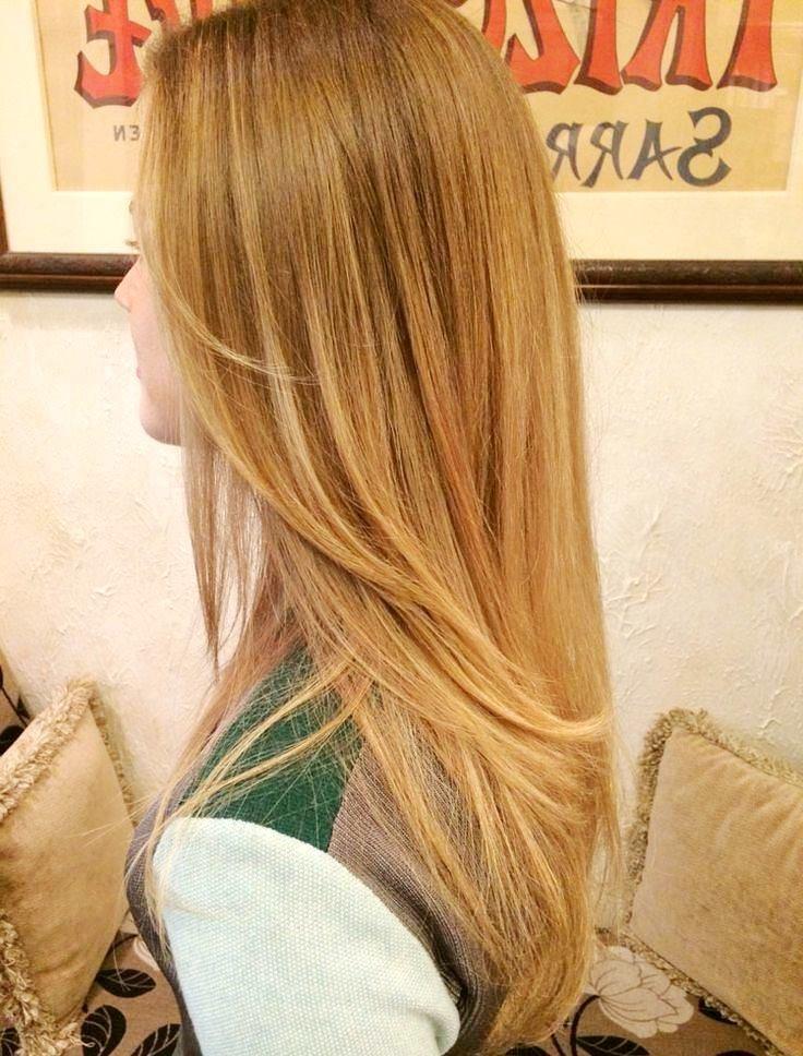 Волосы пшеничного цвета
