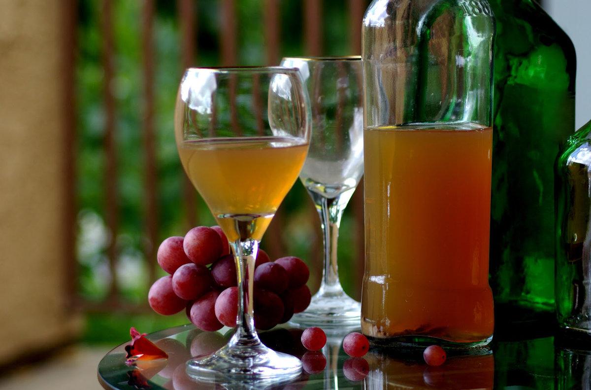 Рецепт виноградного сухого домашнего вина