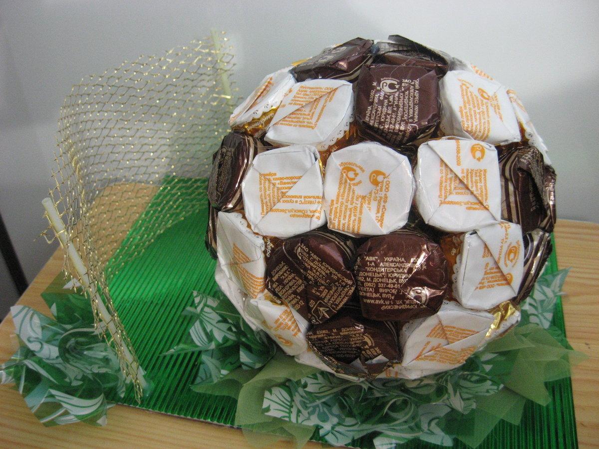 Подарок сыну на день рождения из конфет