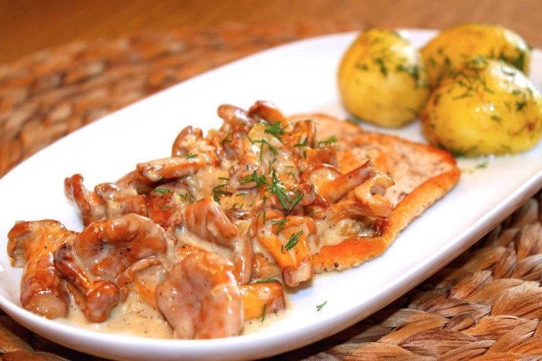 Соус грибной с лисичками рецепт