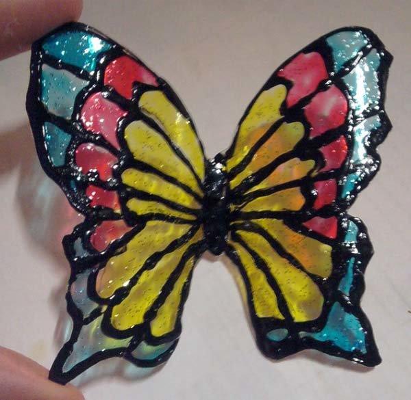 Поделки из бутылок пластиковых бабочка