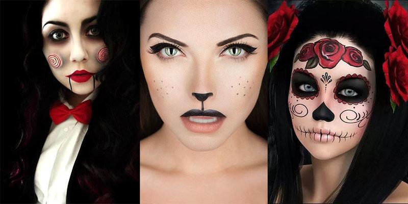 Фото на хэллоуин для девочек макияж и
