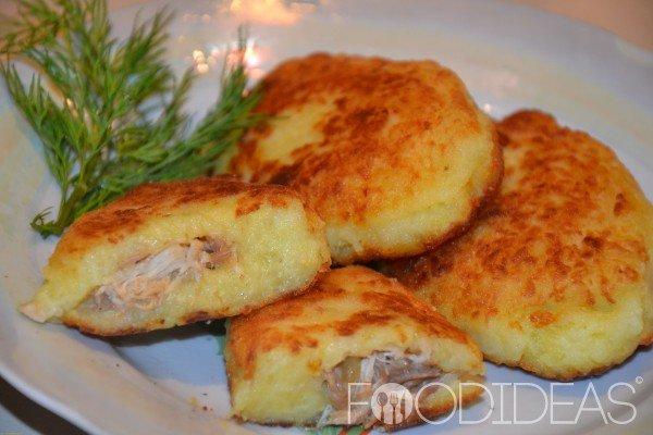 Зразы картофельные с фаршем в духовке рецепт приготовления