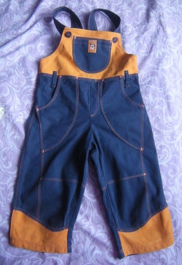 Как сшить комбинезон для ребенка из старых джинсов своими руками 31