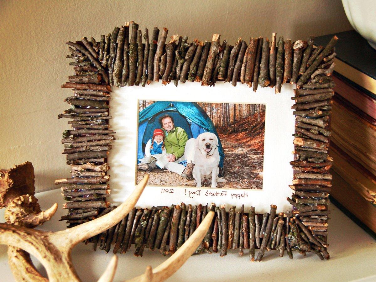 Картина из подручных материалов своими руками к новому году
