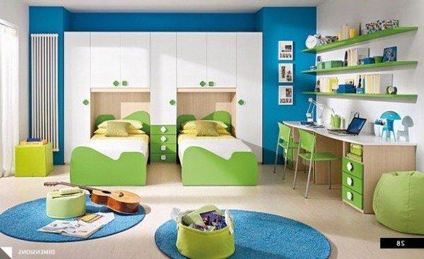 Интерьер детские комнаты фото для двоих детей