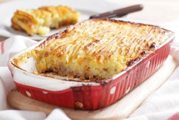 Рецепт запеканки с картошкой и фаршем в духовке пошагово