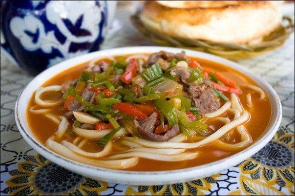 Лагман по-узбекски рецепт с фото пошагово