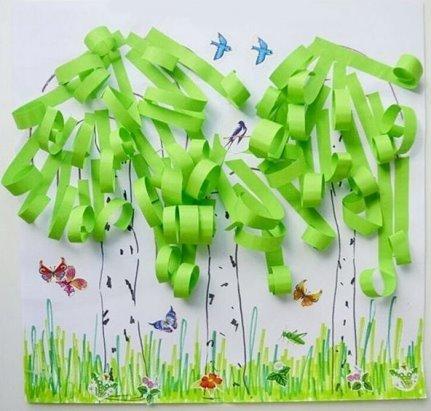 Поделки зелёного цвета 83