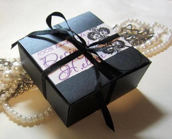 Коробочки для оформления подарка 347