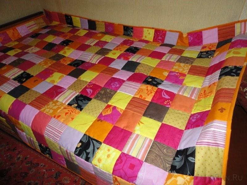 Лоскутные одеяла своими руками фото