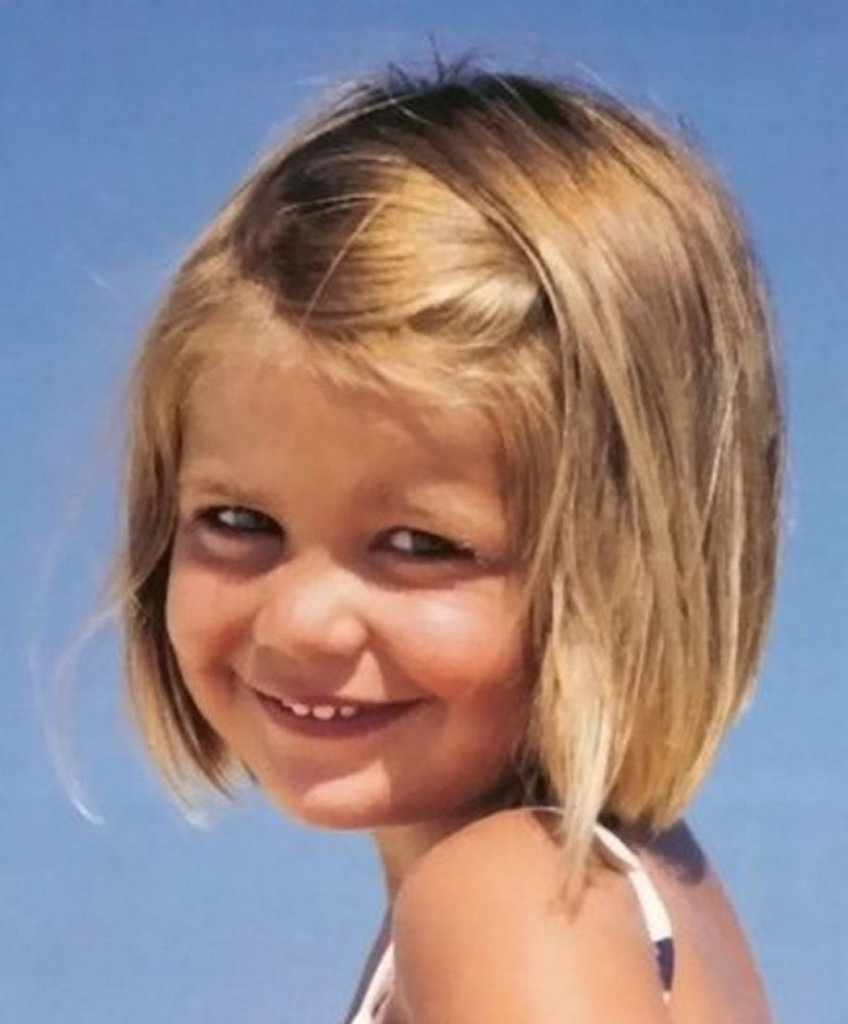 Детские стрижки для тонких волос