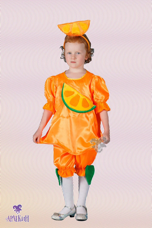Костюм мандаринки своими руками