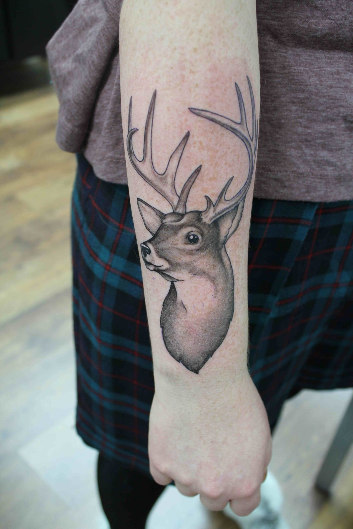 Татуировка олень - значение, эскизы тату и фото