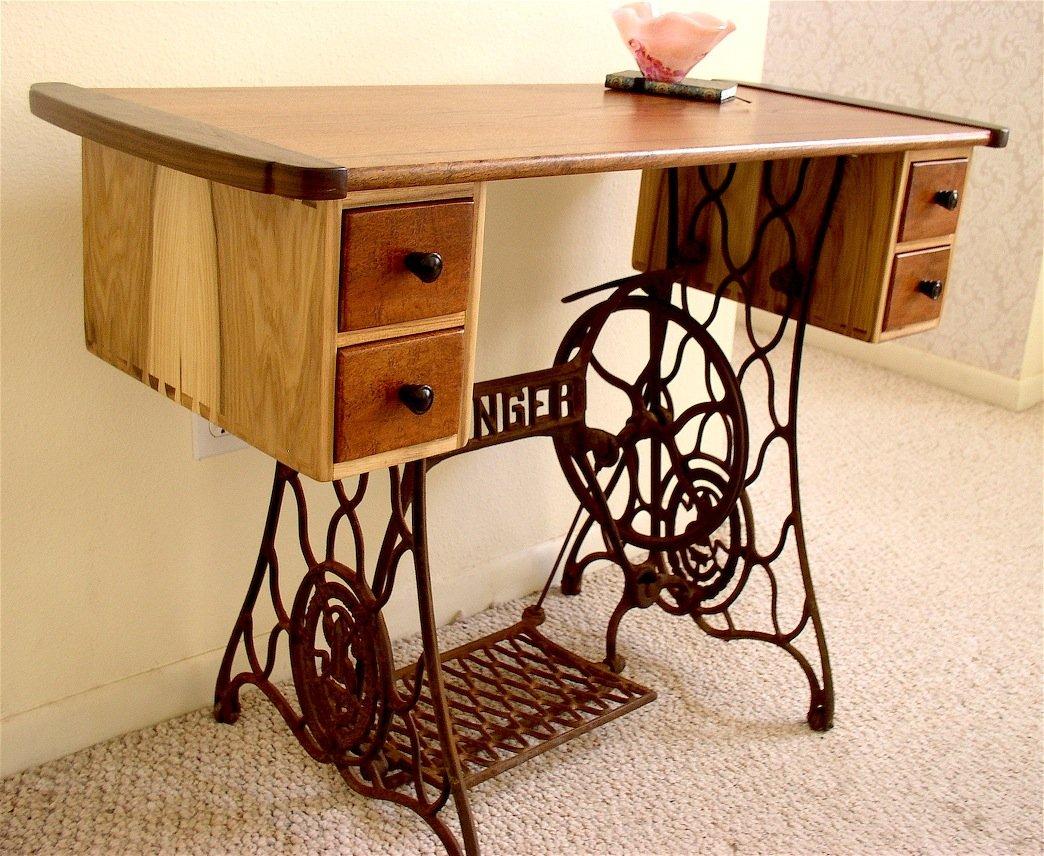 Как сделать стол под машинку 116