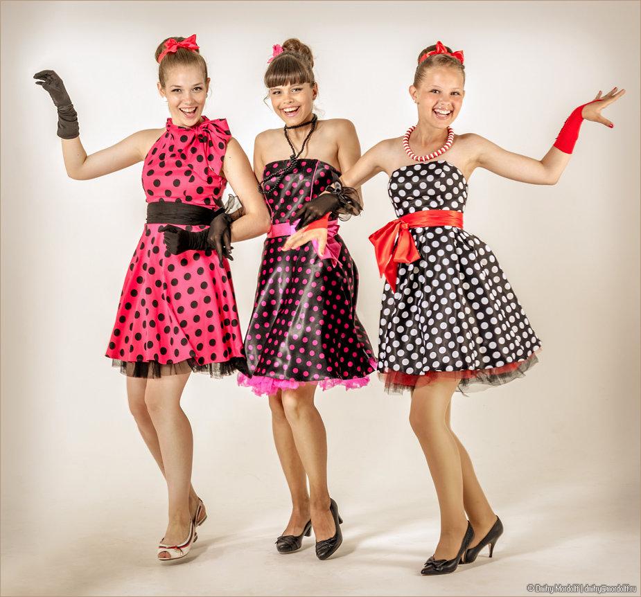 Платье стиляги для девушки 10