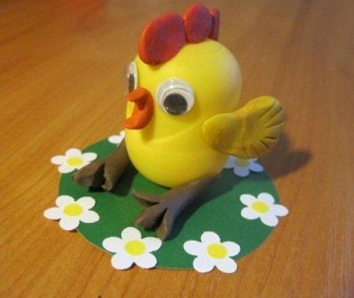 Поделки из пластилина на тему весна