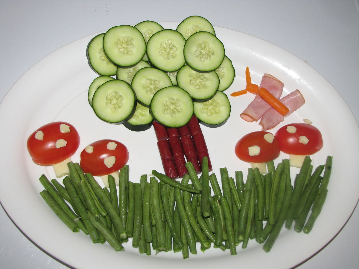 Праздничные блюда на день рождения для детей фото