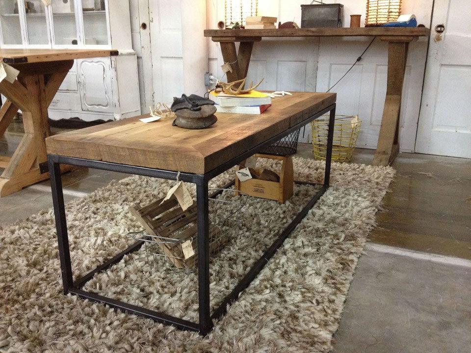 Деревянный стол в стиле лофт своими руками 48