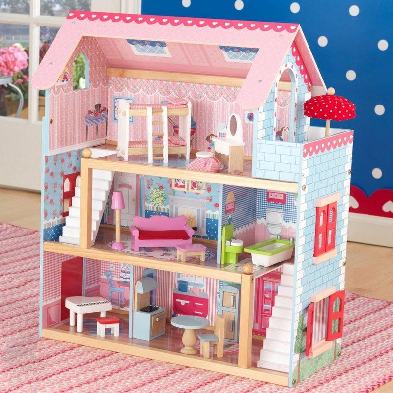 Размер кукольного домика для барби