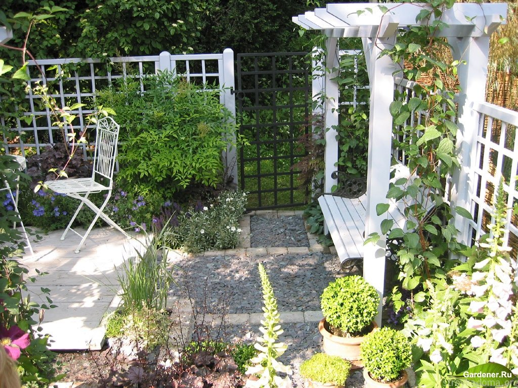 Садовый ландшафт своими руками фото на 6 сотках 80