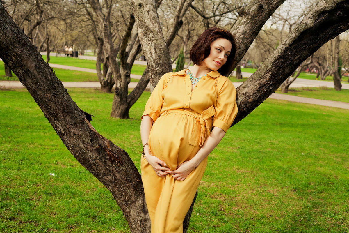 Отдых для беременных в октябре