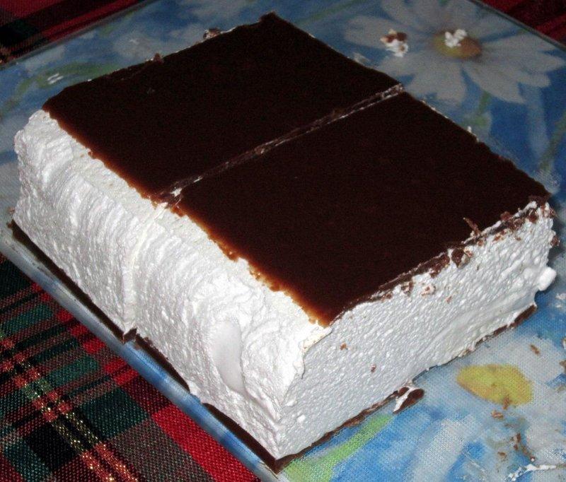 Торт птичье молоко по госту с желатином с фото