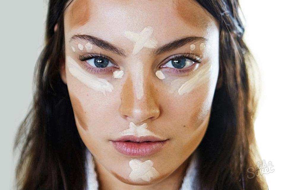 Как сделать чтобы на лицо было худым