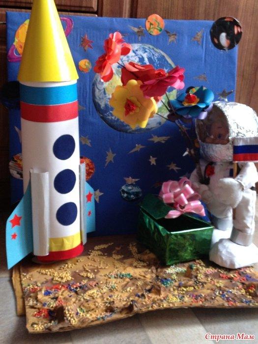 Поделки к дню космонавтики своими руками 10