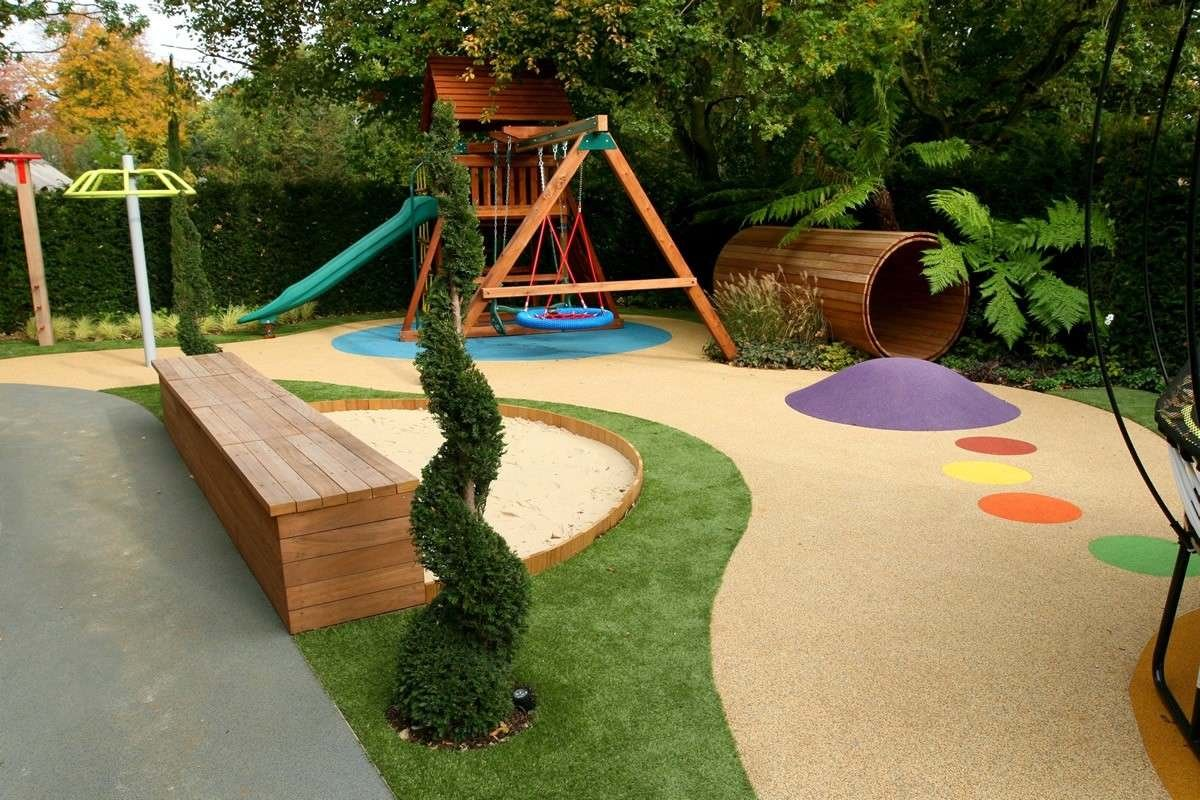 Ландшафтный дизайн детского уголка
