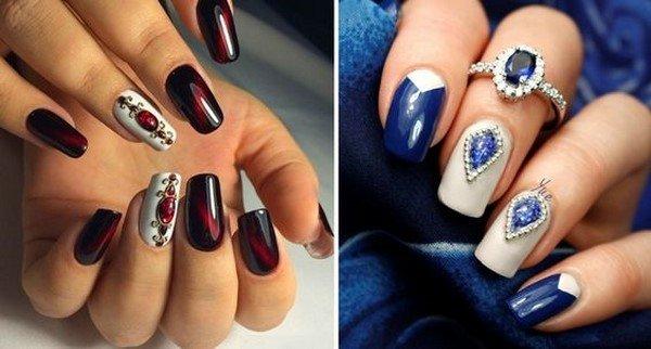Красивый дизайн ногтей на коротких ногтях 2017-2018 новинки