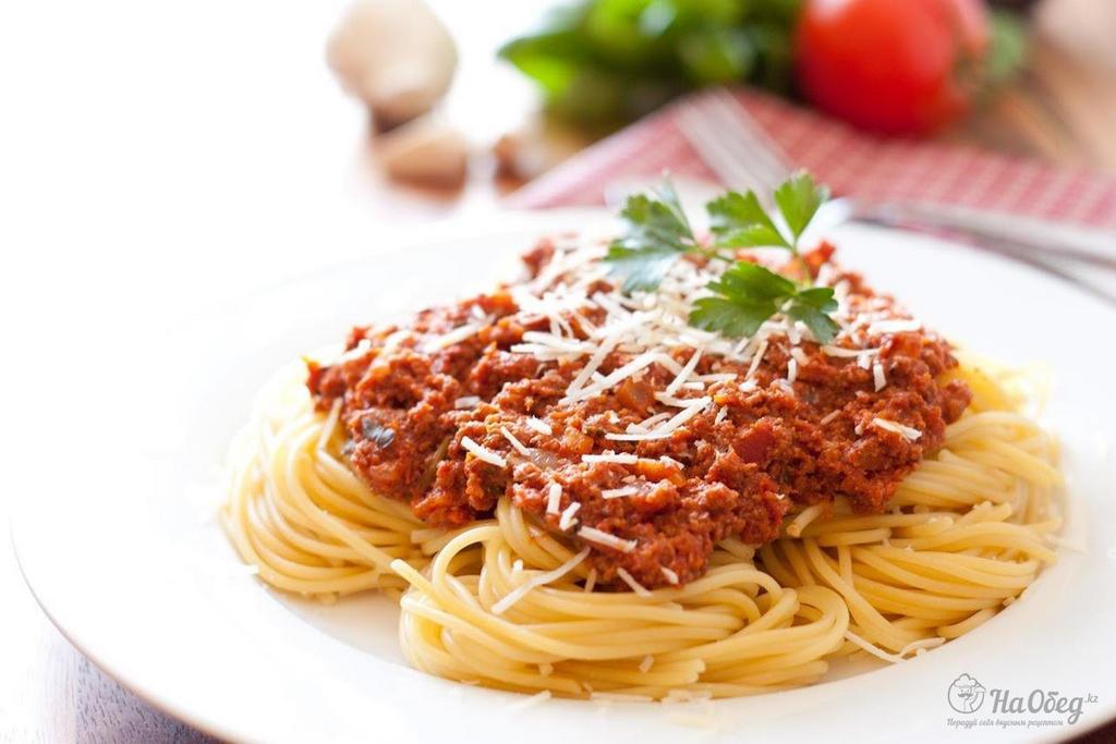 Вкусная паста к спагетти рецепт в домашних условиях