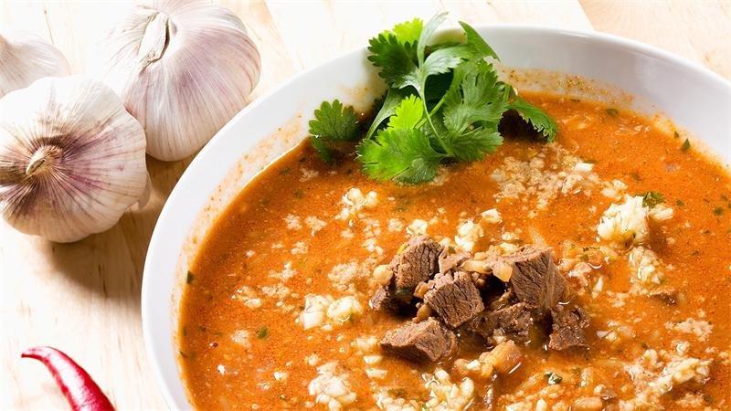 Рецепт острого супа харчо