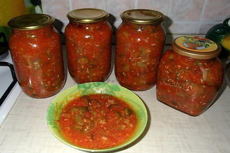 Салат на зиму рецепты с фото пошагово