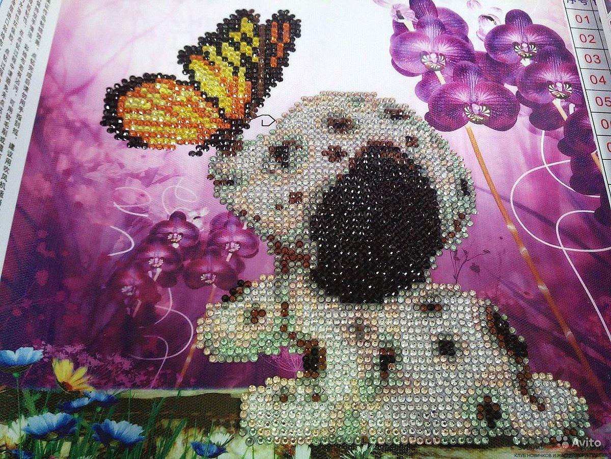 Эксклюзивная алмазная мозаика - изготовленная по Вашему эскизу (фото) 65