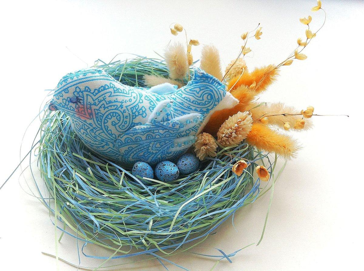 Гнездо из бумаги