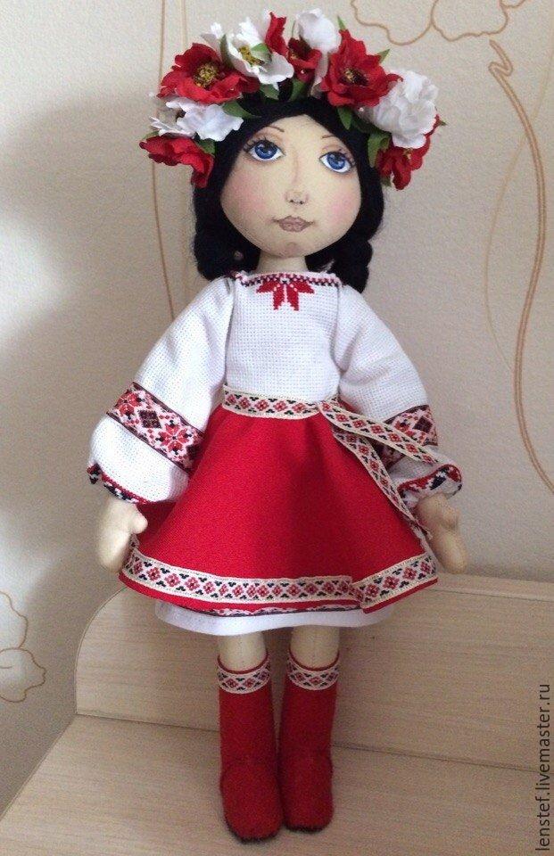 Кукла в украинском наряде своими руками