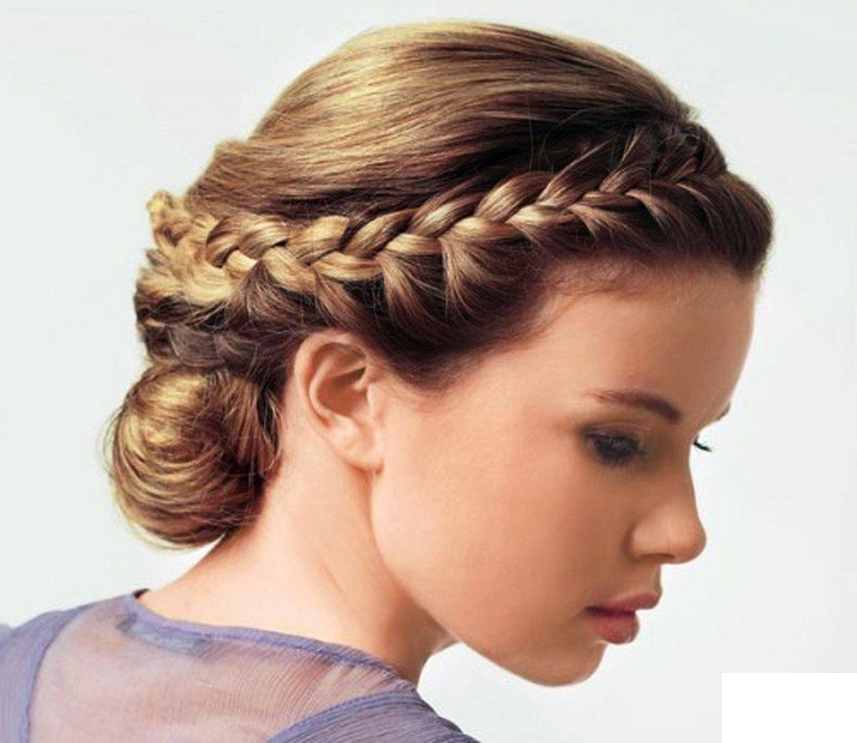 Прически на длинные волосы с косой