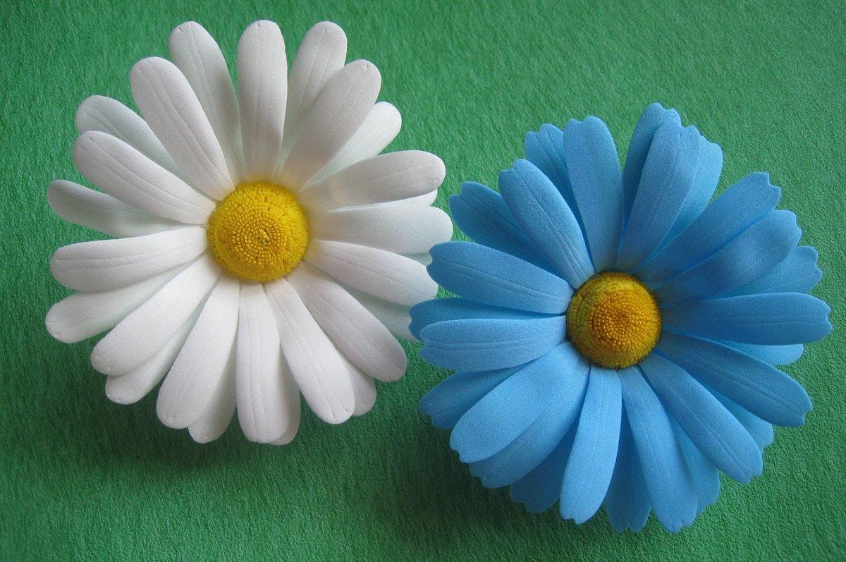 Цветы ромашка из фоамирана своими руками мастер класс