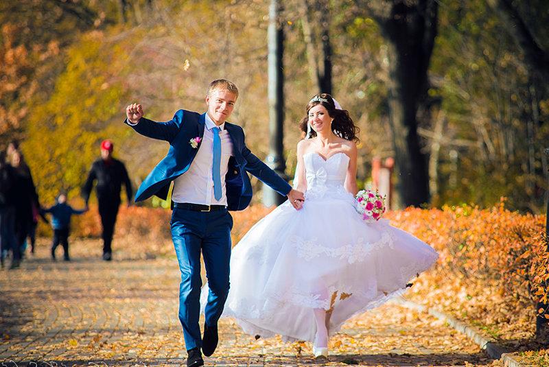 Фото идеи для свадьбы осенью