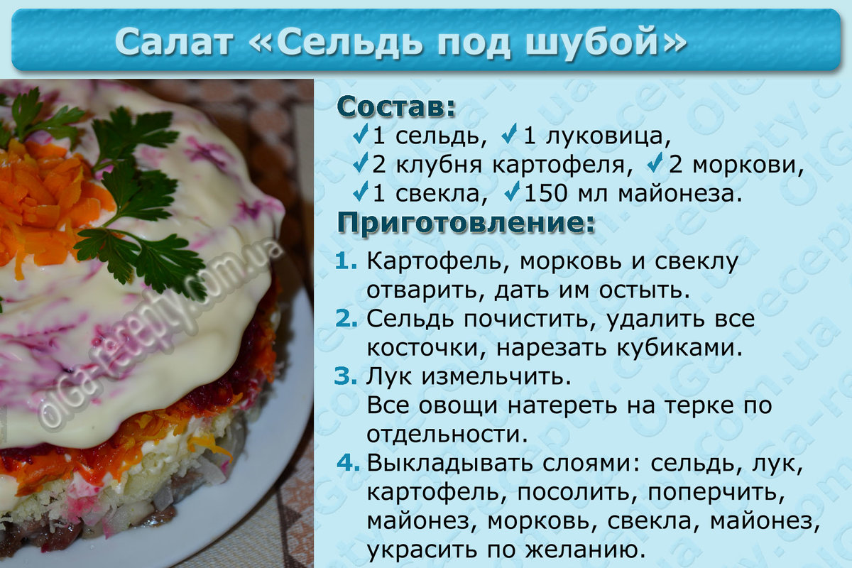 Как сделать селёдку под шубой пошаговый рецепт 87